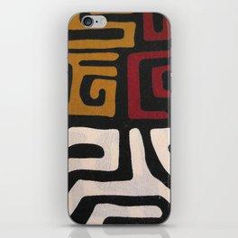 African Mudcloth Print iPhone Skin