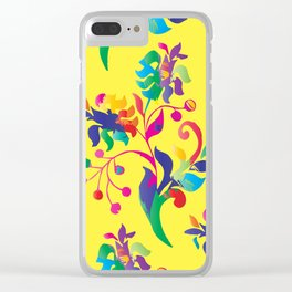 Floral Motives_04 by Victoria Deregus Clear iPhone Case