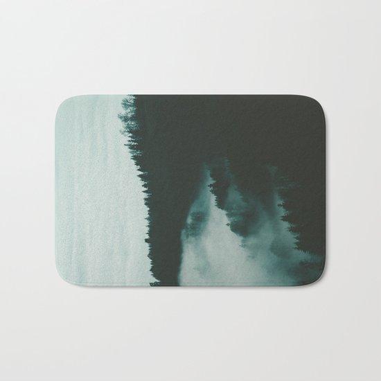 dark fog Bath Mat