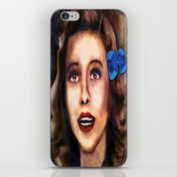 dorothy iPhone & iPod Skins featuring Dorothy by Amanda Lee