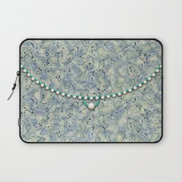 Smokey Pattern with Pearls Laptop Sleeve