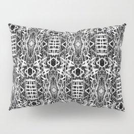 bw texture 10 Pillow Sham