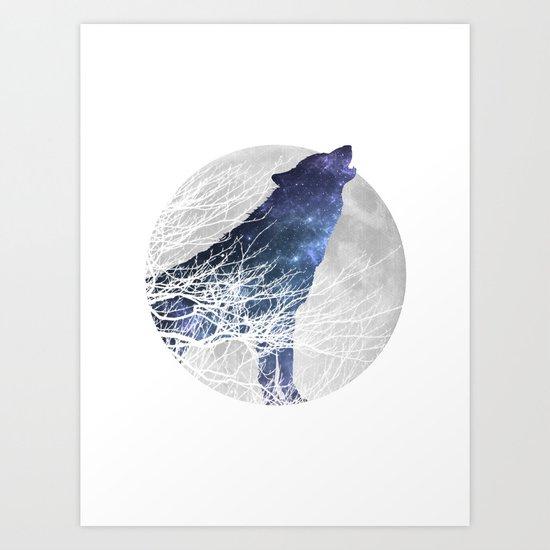 Animal Collection - Wolf Art Print