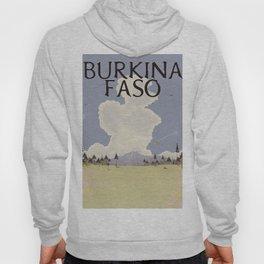 Burkina Faso Travel print Hoody