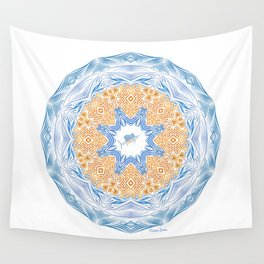 Tribal Sailfish Mandala Wall Tapestry