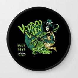 Voodoo Vixen Wall Clock