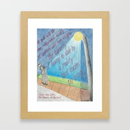 Insanity? Framed Art Print
