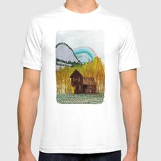 Landscapes / Nr. 3 Mens Fitted Tee White MEDIUM