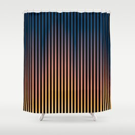 Vertiscape 01 Shower Curtain