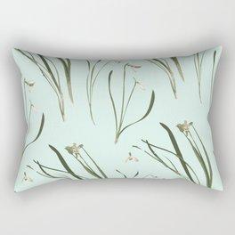 GALANTHUS IN MINT Rectangular Pillow