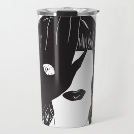 Yekaterina Petrovna Zamolodchikova Black&White Travel Mug