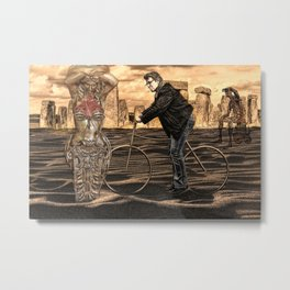 is it art? . . . or can I clean it up? Metal Print