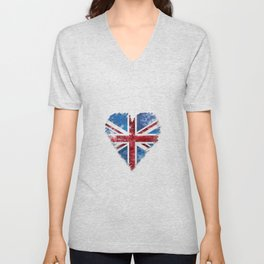 Brexit Or Not Britain We Love You Unisex V-Neck