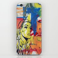 texas iPhone & iPod Skins featuring Texas by Asher Feehan