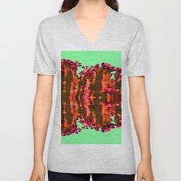 Surreal Cactus Art Unisex V-Neck