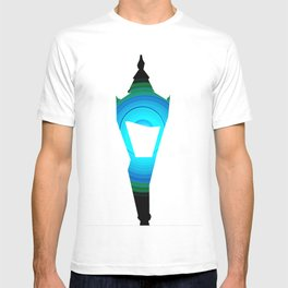 Concentric Lamppost  T-shirt