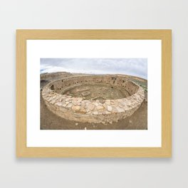 Casa Rinconada - Great Kiva Framed Art Print