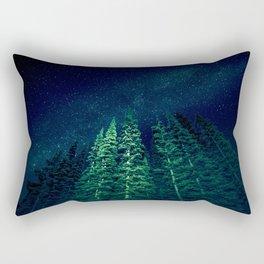 Star Signal - Nature Photography Rectangular Pillow