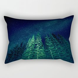 Star Signal - Nature Photography Rectangular Pillow