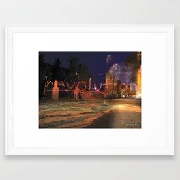 Revolution Framed Art Print
