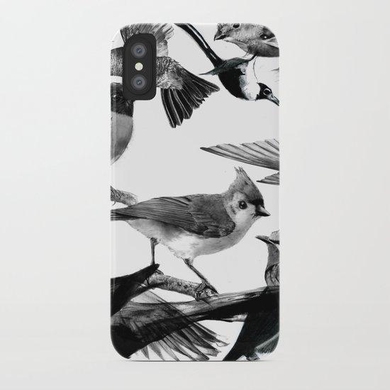 A Volery of Birds iPhone Case