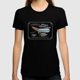 Avian Zeppelin Steampunk Poster T-shirt