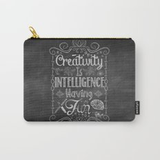 Creativity is Intelligence Having Fun Carry-All Pouch