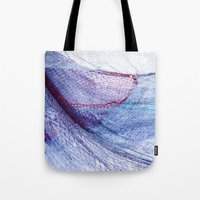 fishing Tote Bags featuring fishing by Claudia Drossert