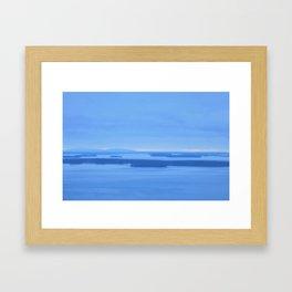Sunrise in Maine Framed Art Print