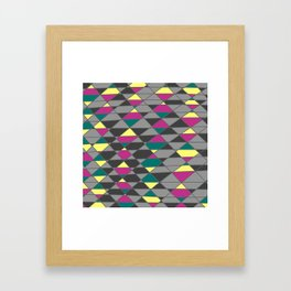 jewel tone Framed Art Print
