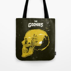 The Goonies art movie inspired Tote Bag