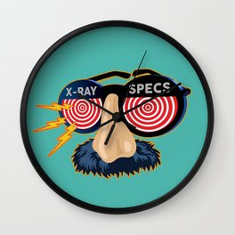 X-Ray Beaglepuss Specs Wall Clock