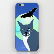 Jack Cat Goes Gothic iPhone Skin