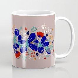 Folk Spring Flowers blooms - number1 Coffee Mug