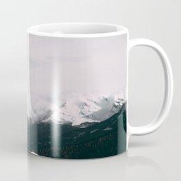 Mountain relief Alps Coffee Mug