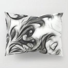 Glowing Floral Invert Pillow Sham
