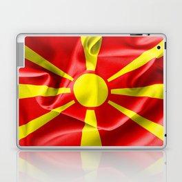 Macedonia Flag Laptop & iPad Skin