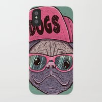 dogs iPhone & iPod Cases featuring Dogs by Lime