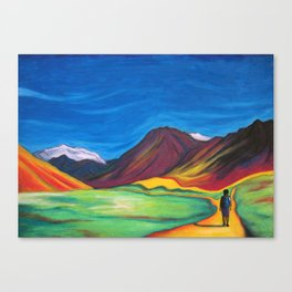 Mendoza walking Canvas Print
