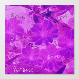 Flowers V5 VDC Canvas Print