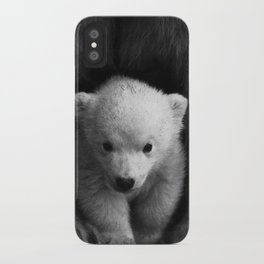 cute baby polar bear #society6 #decor #buyart iPhone Case