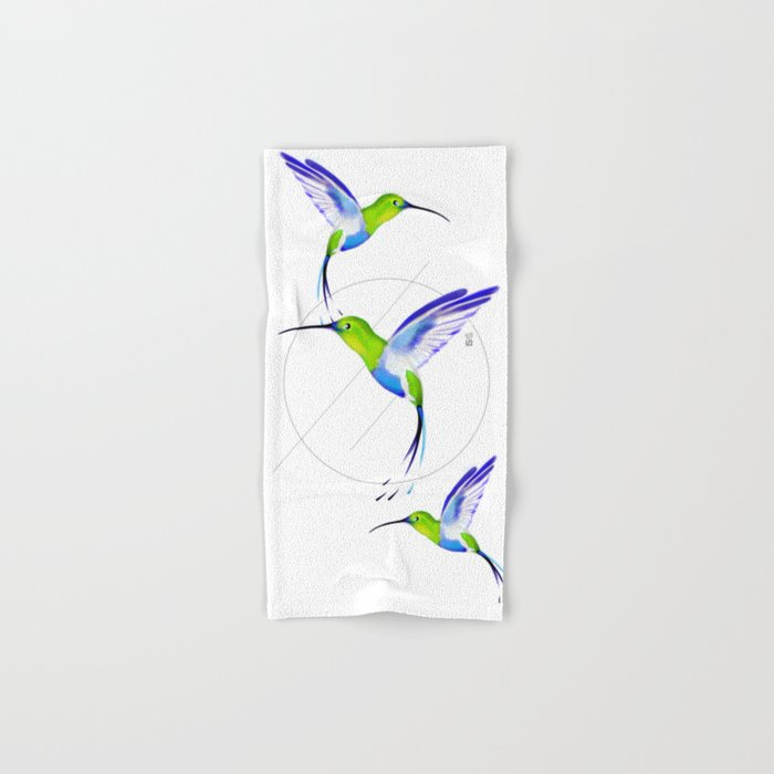 Under the Sign of Colibri Hand & Bath Towel