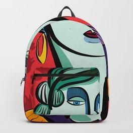 Portrait Rouge of a Jade Girl Skin Beauty Backpack