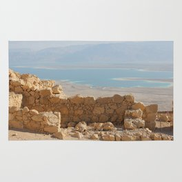 ABOVE THE DEAD SEA Rug