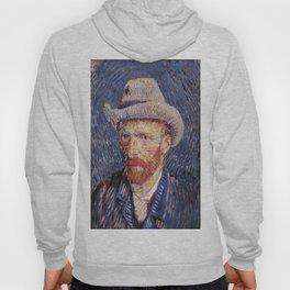 Vincent van Gogh's Self-Portrait with Felt Hat Hoody