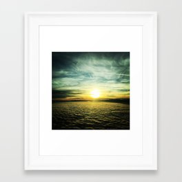 Sunsets in the West Framed Art Print