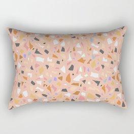 Terrazzo arlecchino Rectangular Pillow
