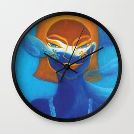 WOMAN OF WATER Wall Clock