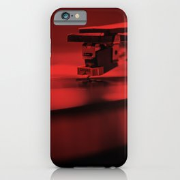 Red Vinyl III iPhone Case