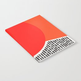 Sunshine And Rain Abstract Notebook